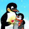 Flim-Pinguin-Herz-veganverlag-GruenerSinn-Verlag