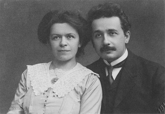 Albert-Einstein-Ehefrau-polonapolona-veganverlag