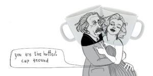 Albert-Einstein-ein-Genie-feiert-Geburtstag-polonapolona-veganverlag