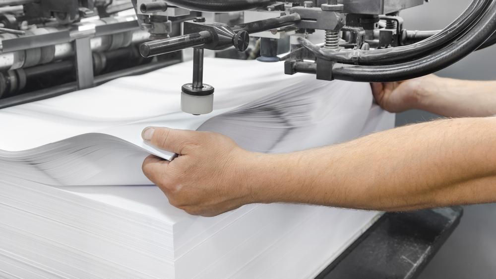 Wir haben uns für unsere Druckerzeugnisse für holzfreies Papier aus schnell nachwachsenden Rohstoffen