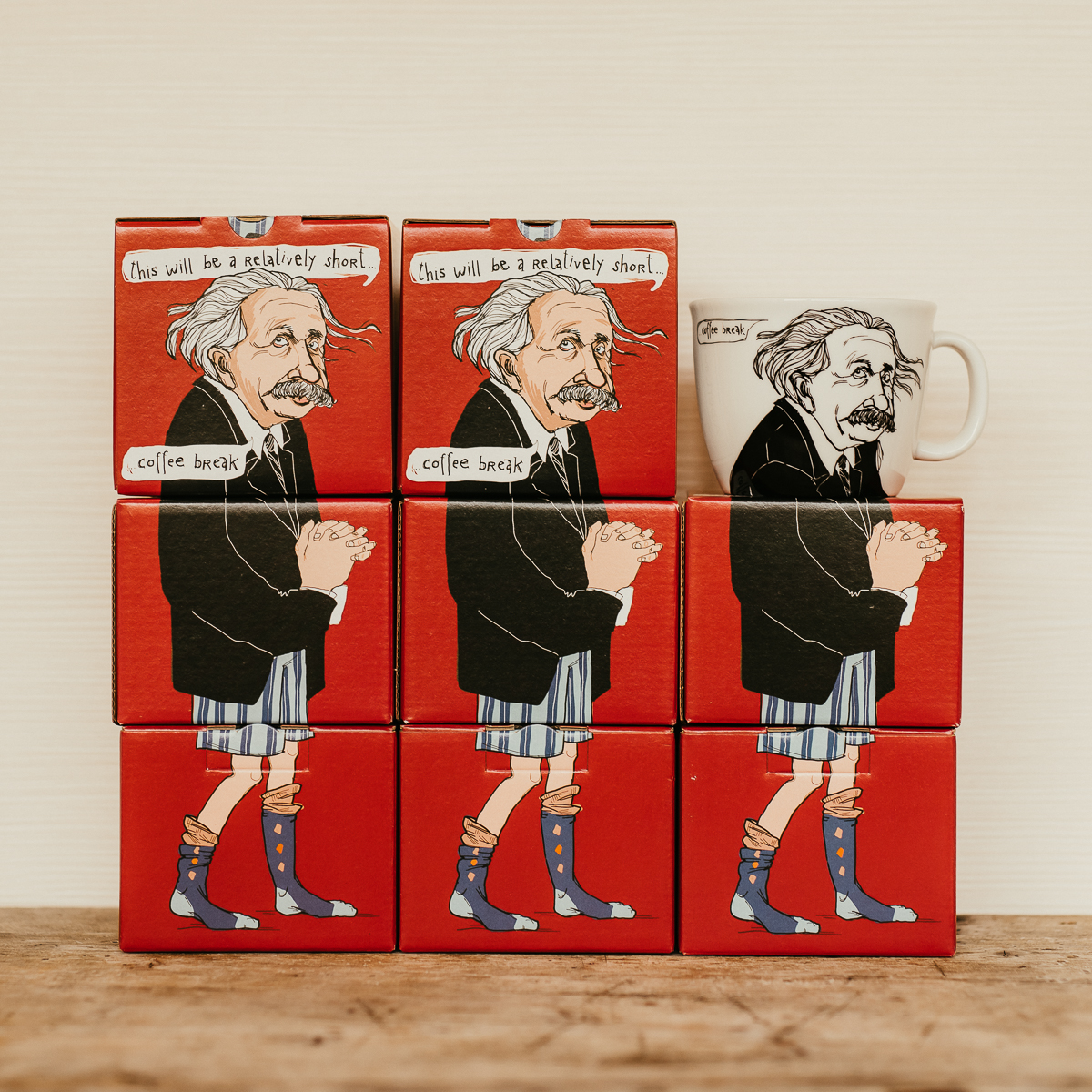ALBERT, the mathematician, 35cl mug
