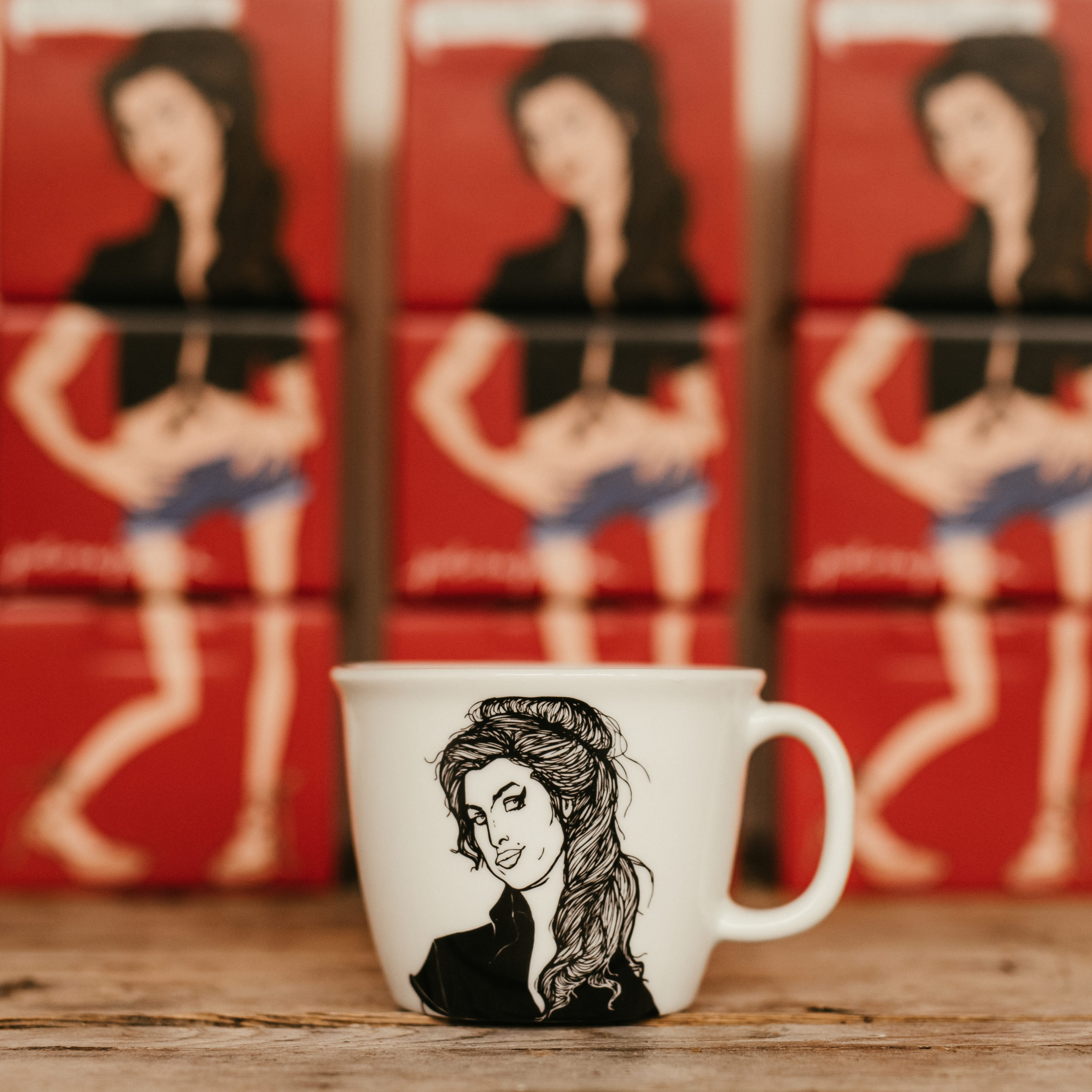AMY, the muse, 35cl mug
