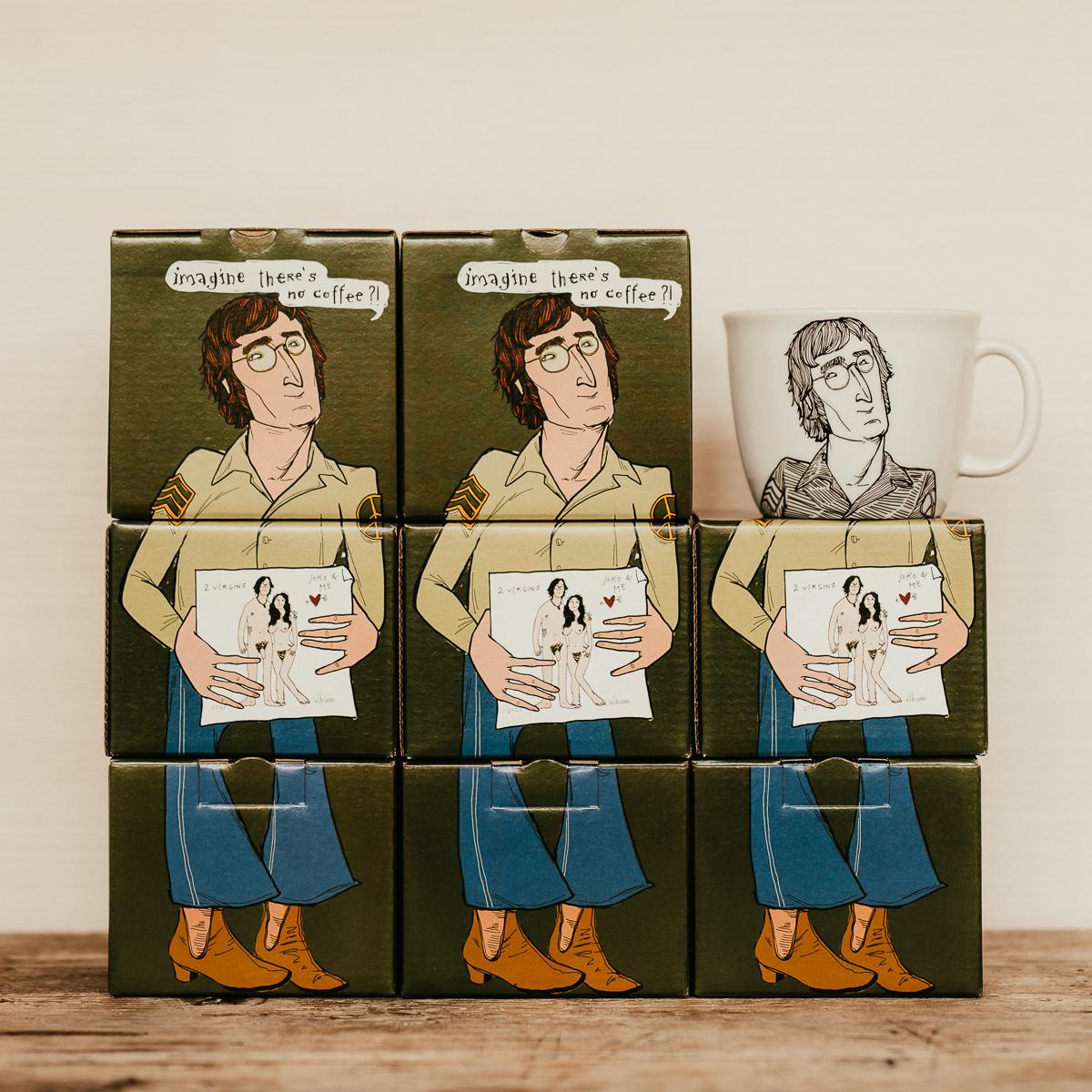 JOHN, the jealous one, 35cl mug