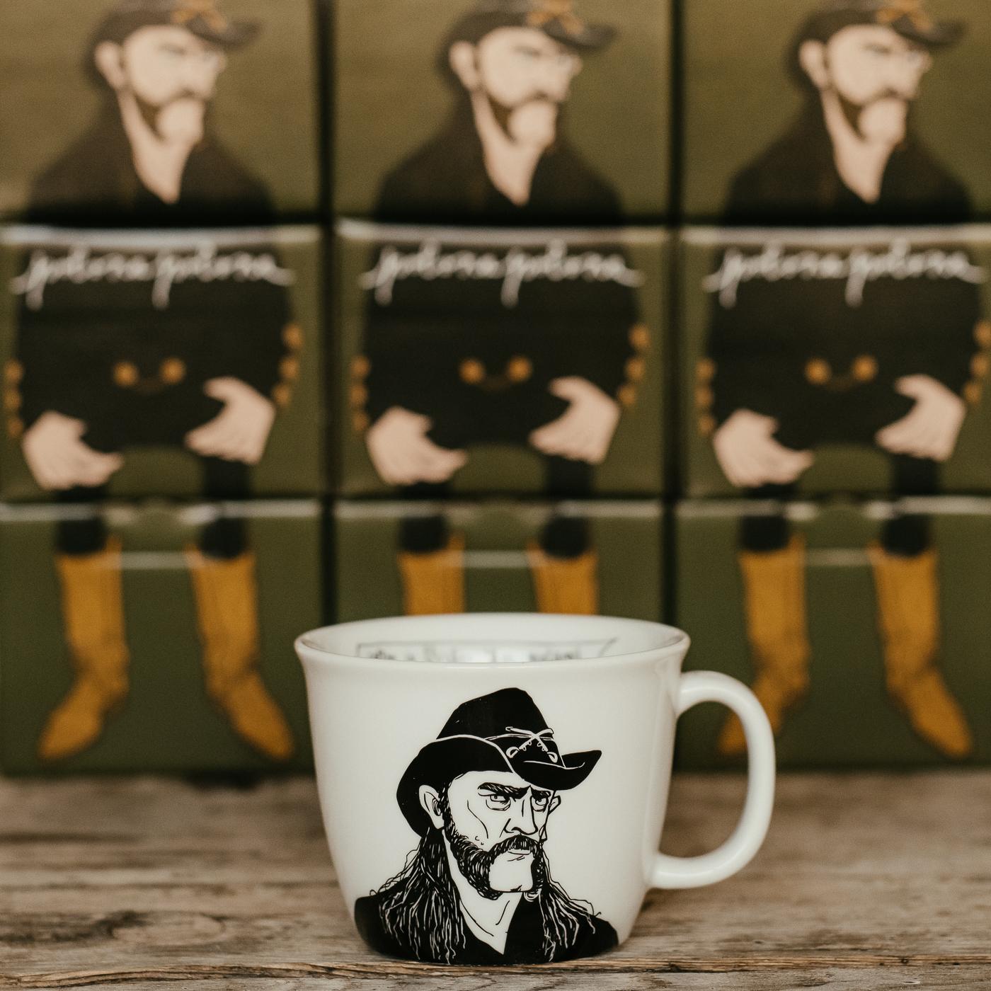 LEMMY, the hoarse-voiced one, 35cl mug