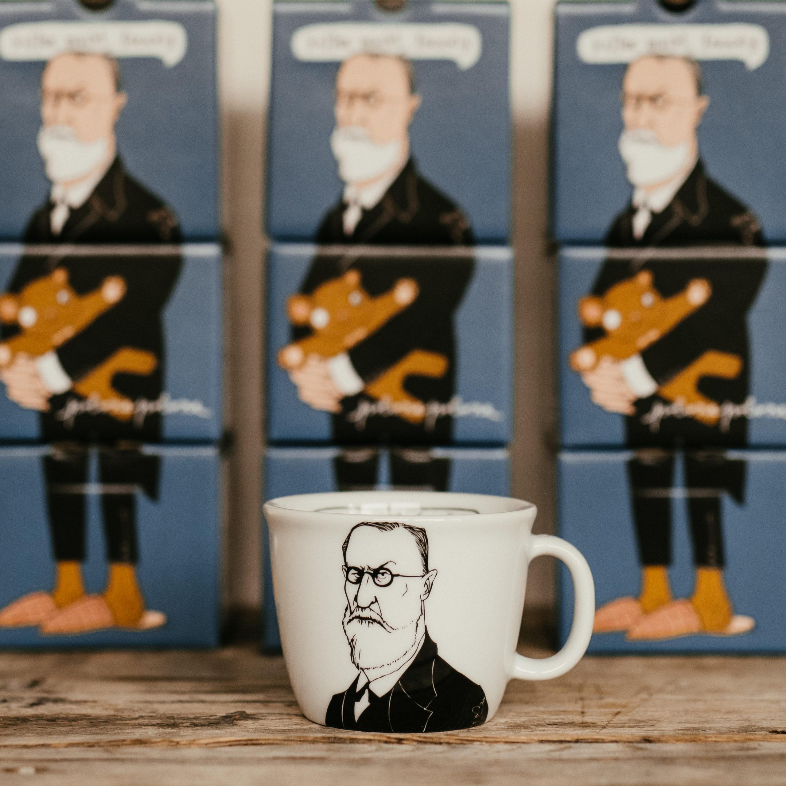 SIGMUND, the psychoanalyst, 35cl mug