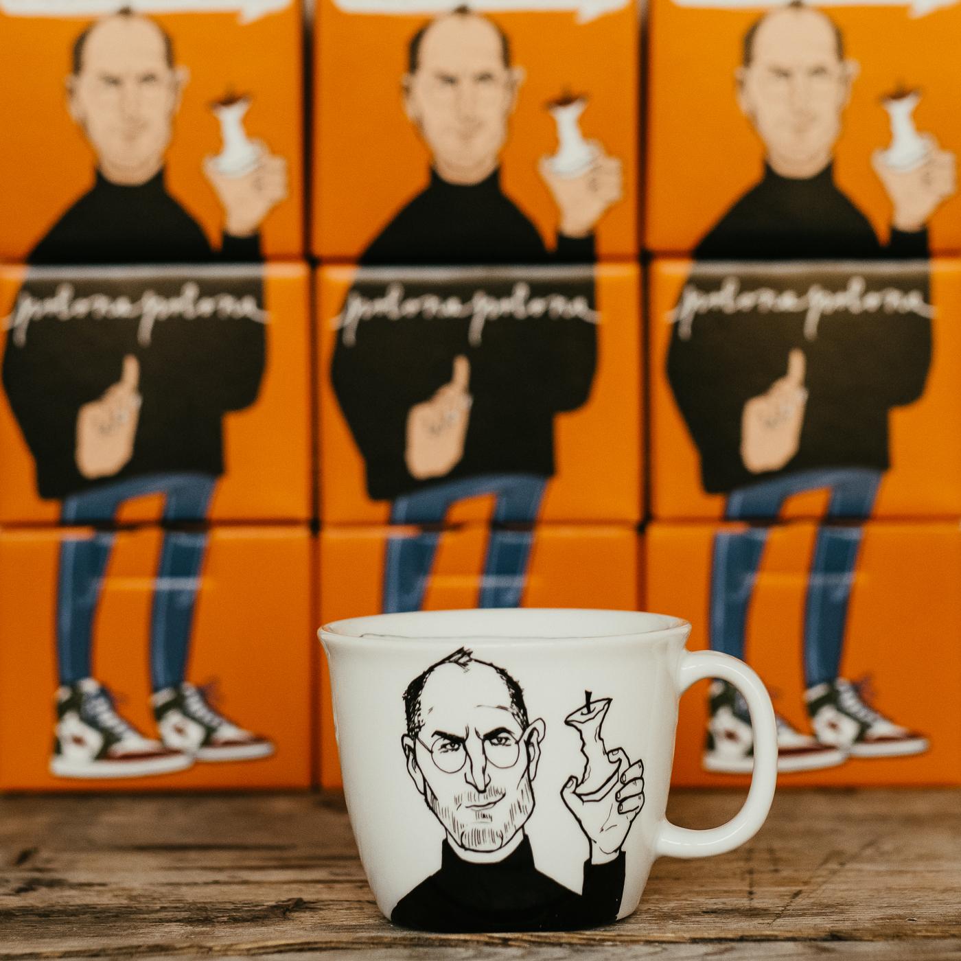 STEVE, the apple man, 35cl mug