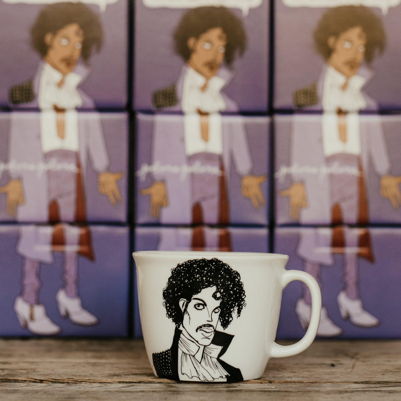 THE PURPLE ONE, the one who changed his name, 35cl mug